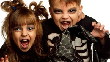 stage halloween enfants